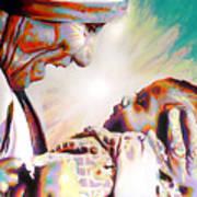 Blessed Mother Teresa Art Print