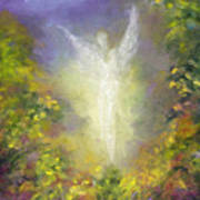 Blessing Angel Art Print