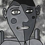 Blind Date Guy Art Print