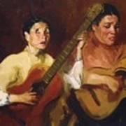 Blind Singers 1912 Art Print