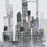 Blip 2  Art Print by Andy  Mercer