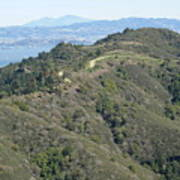 Blithedale Ridge On Mount Tamalpais Art Print