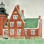Block Island Southeast Lighthouse Art Print