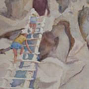 Blond Indians Art Print