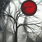 Blood Of The Moon 2 By Madart Print by Megan Duncanson