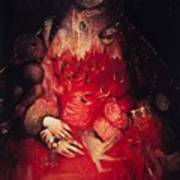 Blood Queen Art Print