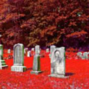 Blood Red Art Print