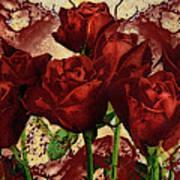 Blood Red Lust Art Print