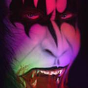 Bloody Demon Art Print