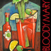 Bloody Mary Poster Art Print