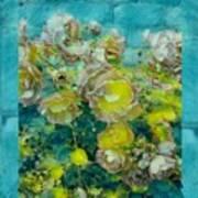 Bloom In Vintage Ornate Style Art Print