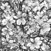 Blooming Apple Tree Art Print
