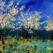 Blooming Appletrees 56 Art Print