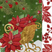 Blooming Christmas I Art Print