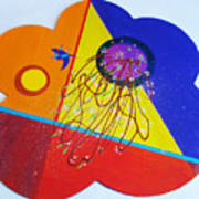 Blooming In The Inner Garden Art Print
