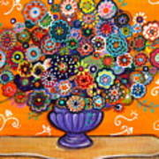 Blooms 6 Art Print