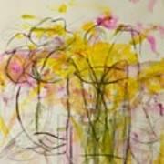 Blooms In Shadow Art Print