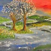 Blossom Trees Art Print