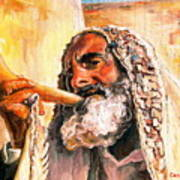 Blow The Trumpet In Zion Art Print