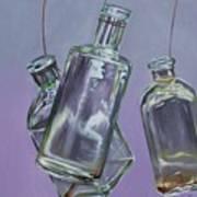 Blowing Rock Bottles Art Print