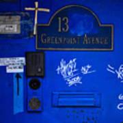 Blue 13 Art Print