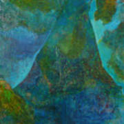 Blue .9. Art Print
