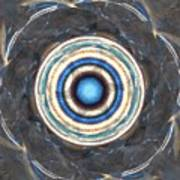 Blue Abalone Sphere Art Print