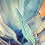 Blue Agave Family Art Print