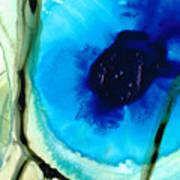 Blue And Green Art - Pools - Sharon Cummings Art Print