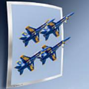 Blue Angels - Oof Art Print