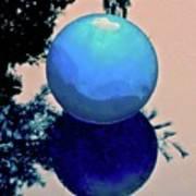 Blue Ball 2 Art Print