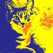 Blue Bink Art Print