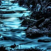 Blue Blur Art Print