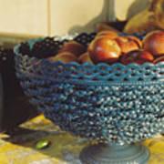 Blue Bowl Art Print