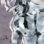 Blue Boy Variation Art Print