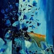 Blue Bunch 45 Art Print