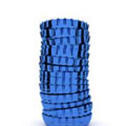 Blue Cap Art Print