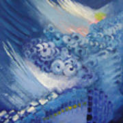 Blue Concerto 2 Art Print