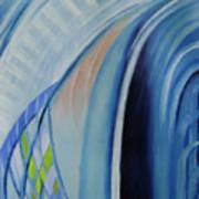 Blue Concerto 3 Art Print