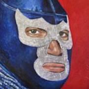 Blue Demon Jr Art Print