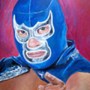 Blue Demon Art Print