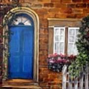 Blue Door 2 Art Print