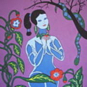 Blue Eve  No. 2 Art Print