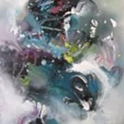 Blue Fever15 Art Print