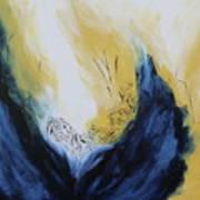 Blue Flame II Art Print