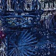 Blue Gate Barcelona Art Print
