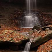 Blue Hen Falls And Cascade Art Print