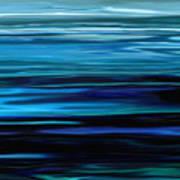 Blue Horrizon Art Print