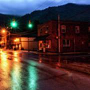 Blue Hour In Webster Springs Art Print