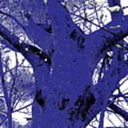 Blue Ice Art Print